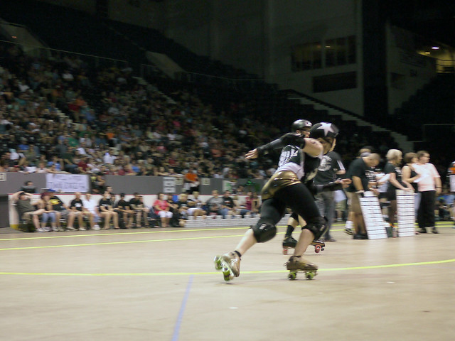 The Cincinnati Rollergirls vs.Detroit Derby Girls