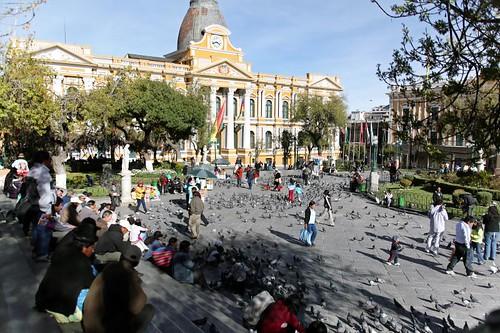 Palacio Legislativo... and pigeons