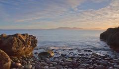 18 4 14 Portencross (GarrySmith75) Tags: sunset sea seascape beach pebbles portencross