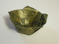 5-sided Berlin bowl (Mlisande*) Tags: origami bowl mlisande pentagon hildezenz