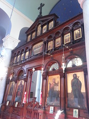 "Interior of the Greek Orthodox Church of St Nicholas, Toxteth, Liverpool • <a style=""font-size:0.8em;"" href=""http://www.flickr.com/photos/9840291@N03/14238897639/"" target=""_blank"">View on Flickr</a>"