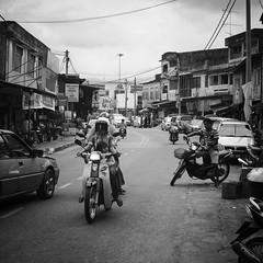 family transport (1davidstella) Tags: street clouds town kelantan placesofinterest rantaupanjang