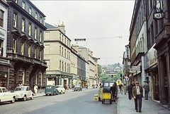 Reform Street (Dundee City Archives) Tags: street old cars retail shopping photos dundee victorian bank flats era shops housing georgian morris minor citycentre offices reformstreet olddundeephotos