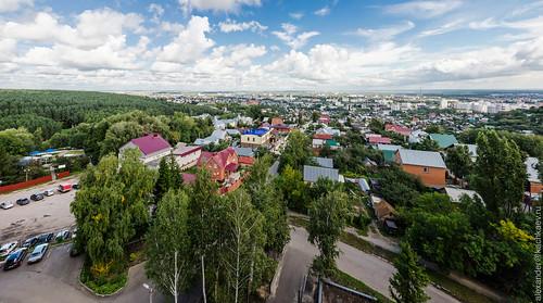 Panorama of Penza from Zapadnaya Polyana (summer 2013)
