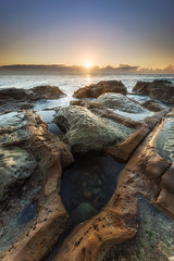 Something Special (.njep) Tags: australia avocabeach canon1635mmf4 canon5dmarkiv nsw sunrise landscape rocks seascape sun waves wideangle goldenhour sunlight ocean