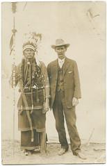 [Quanah Parker and W. C. Riggs, Fat Stock Show, Fort Worth, Texas] (SMU Central University Libraries) Tags: texas indians americanindians americanindian uswest quanahparker comanches throwbackthursday monomonday