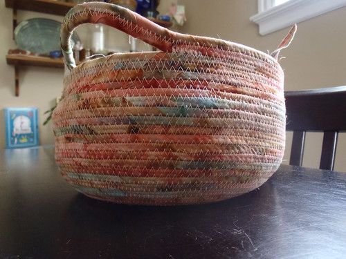 Bread basket - handle