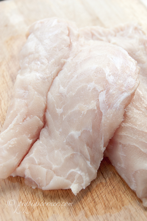 Crocodile tail fillets