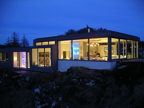 House at Craignish by Cameron Webster Architects