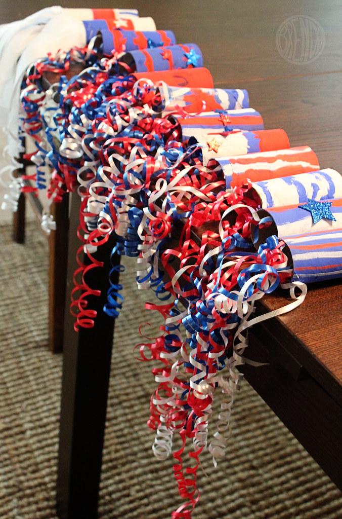 patriotic parade streamers