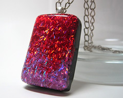 Purple and Red Holographic Glitter Rectangle Resin Pendant (Experience Designs) Tags: red abstract black glitter modern silver rainbow mod shiny colorful purple bright handmade unique formal funky jewelry charm sparkle indie accessories hip resin etsy elegant trippy psychedelic glittery rectangle sparkling shines pendant holographic jewellry