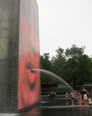 fountains at millenium park