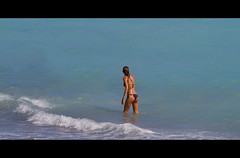 They are nowhere in her thoughts as she dives beneath the waves... (costa.federico) Tags: friends sea summer italy sun beach girl canon happy photography eos see mar is sand funny mare waves chica liguria wave bikini 7d usm 70200 f4 ragazza onde onda schiuma