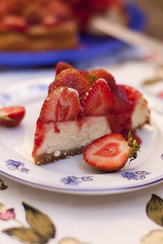 Maasika-juustukook / Stawberry cheesecake