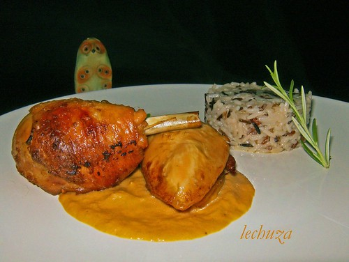 Pollo asado con mostaza-plato -  copia