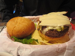 The Bobcat Bite green chile cheeseburger (AllieMark) Tags: favorite newmexico hamburger nm bobcatbite greenchile