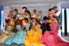 Meeting the Disney Princesses and Princes at the Princess and Pirates Breakfast at the Disneyland Hotel's Founder's Club
