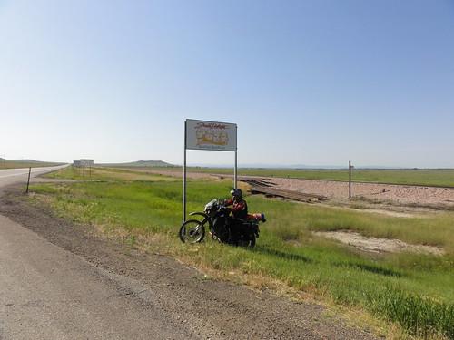 Leaving South Dakota