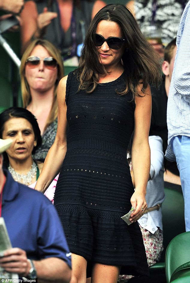 Pippa Middleton causes a stir on Wimbledon's Centre Court yet again   1