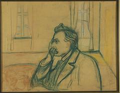 Nietzsche, par Edvard Munch (Guillaume Cingal) Tags: munch nietzsche