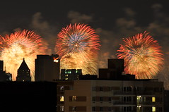 2011 Macy's Fireworks from Brooklyn
