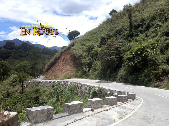 The zig-zag road of Mankayan