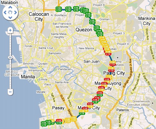 MMDA Traffic Nav 2
