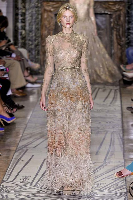 Valentino Haute Couture Fall/Winter 2011 2012 Richgirllowlife.blogspot.com