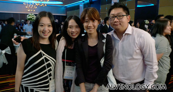 Me with a group of new friends from Taiwan