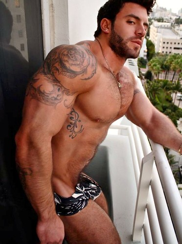 Muscle hairy gay
