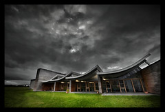 Culloden Visitor Centre - Inverness (Michael Carver Photography) Tags: architecture clouds scotland highlands nikon centre scottish battlefield moor visitor inverness culloden jacobite