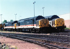37510-37685-37410 at motherwell (47604) Tags: diesel shed depot motherwell mpd tmd englishelectric class37 37234 37273 37410 37510 37685 stabled 37112