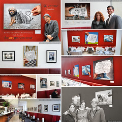 Exhibition - The Avenue - London (Ben Heine) Tags: show family red england inspiration news london art photography restaurant artist unitedkingdom drawing report creative exhibit exhibition exposition solo theavenue redbackground soloexhibition photoreport limitededitionprints benheine pedrocarvalho diasec ddlondon pencilvscamera diasecfinishing danddlondon theartmovement doubleplexi milylongin