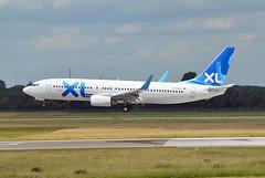 XL Airways Germany Boeing 737-8Q8 D-AXLE (EK056) Tags: germany airport boeing airways düsseldorf xl daxle 7378q8