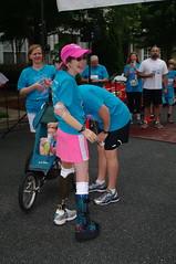 Kristan Finishline (Philip Osborne Photography) Tags: charity race see nc running run seaford 5k matthews amputee prosthetic kristan pentaxasmc28mmf28