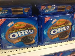 Oreo Cookies Reese's Peanut Butter Cup Special Limited Edition 6/2014 at Target Stores. Pics by Mike Mozart of TheToyChannel and JeepersMedia of YouTube. #OreoCookies #ReesesPeanutButterCups #PeanutButter #Hersheys #Reeses  #Oreos (JeepersMedia) Tags: hersheys oreos peanutbutter reeses reesespeanutbuttercups oreocookies