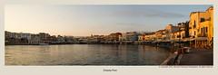 Chania Port (foveras13) Tags: greece crete chania d5200 nikon sunrise sea greek island panorama port