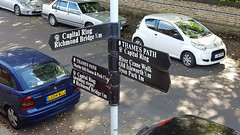 Which way should I go? (Barry C. Austin) Tags: richmondlock riverthames