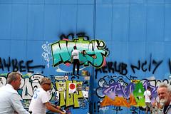 graffiti amsterdam (wojofoto) Tags: graffiti amsterdam nederland holland netherland wojofoto wolfgangjosten streetart ndsm action