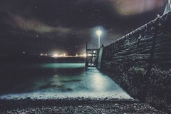 A Winters Tale (garethleethomas) Tags: night cold processing canon home town coast tale winter
