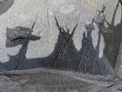 closer in ... (Edinburgh Nette ...) Tags: mull september16 lochbuie rocks designs patterns wet mudstones sand beach grey abstracts