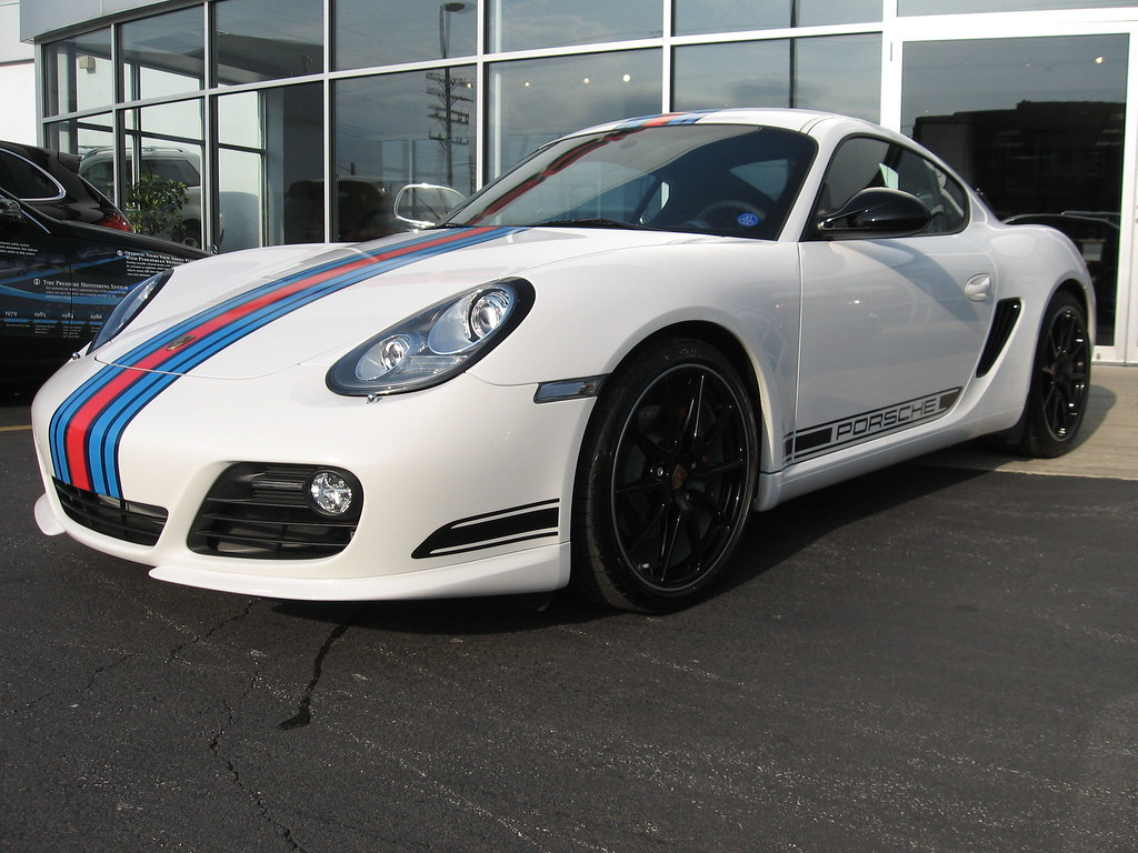 Silverc2s New Cayman R With Personalized Martini Styling