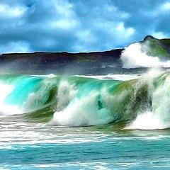 Colorful waves (JimBoots) Tags: kauai
