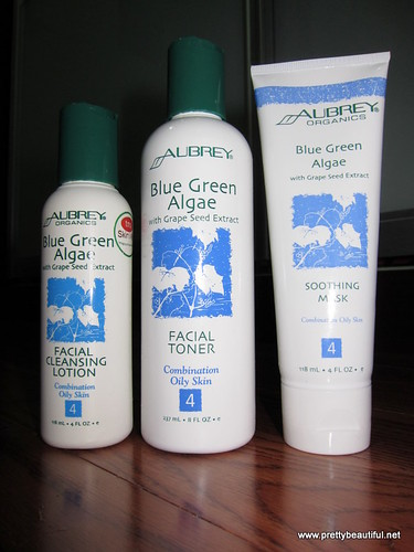 Aubrey Blue Green Algae with Grape Seed Series