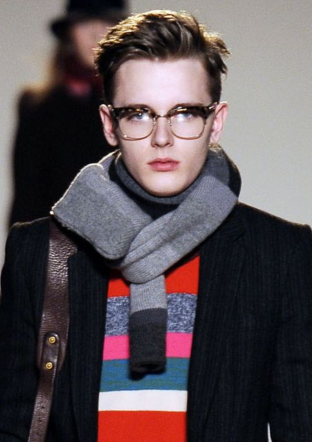 メガネ男子 Daniel Hicks01_FW09_NY_Marc by Marc Jacobs(VOGUEcom)