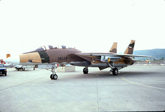 No Red Star On This Aggressor (planephotoman) Tags: topgun tomcat grumman aggressor yakimawa f14a ykm nfws nasmiramar yakimaairterminal 159607 iriaf iranianaf 511993 washingtonstateinternationalairfair