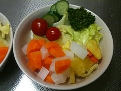 朝食サラダ(2011/6/18)