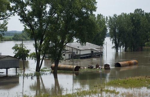 Flooding in Rulo, Neb.