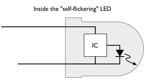 flicker_LED_IC