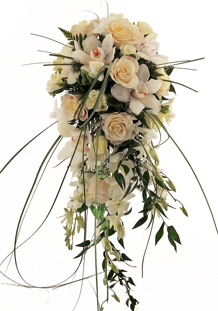 Sparks Florist Heavenly Cascade Bridal Bouquet